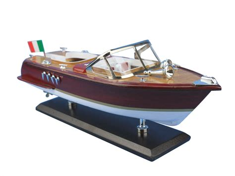 speed boat models buy wooden riva aquarama model speed boat 14 inch model