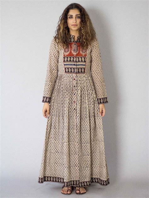 white kora peshbaan cotton dress fashion indian dresses