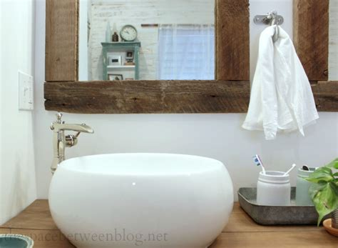 diy bathroom mirror ideas upcycling idea diy reclaimed wood framed mirrors