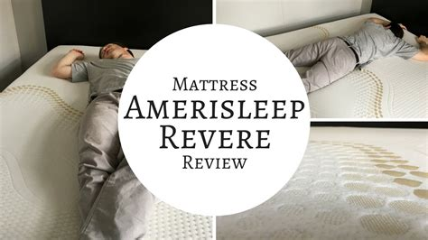 revere bed amerisleep revere bed mattress review youtube