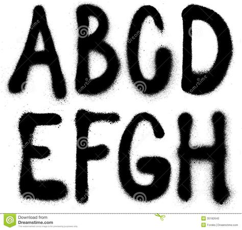 spray paint free font mac graffiti spray paint font type part 1 alphabet stock