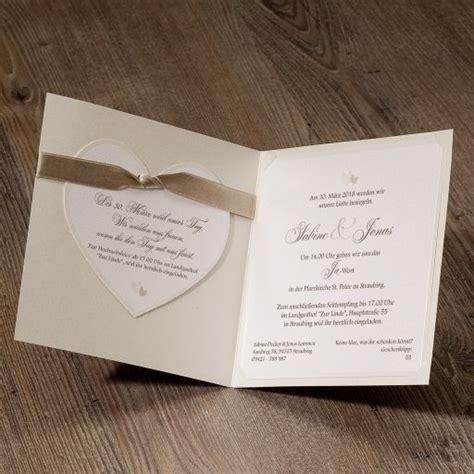 Gestaltung Hochzeitseinladung by 17 Best Images About Einladungskarten Mit Herzmotiv Zur