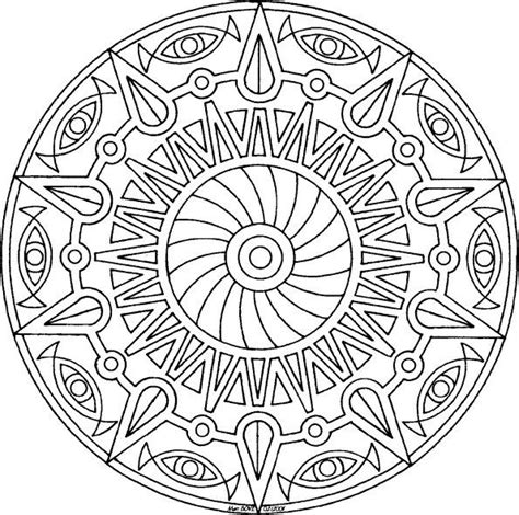 sun mandala coloring page sun pinwheel mandala free coloring page mandala