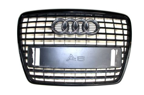 Audi A6 C6 Front Grill by Genuine Audi A6 2004 2008 S Line Front Bumper Centre