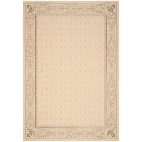 safavieh cy2326 3201 courtyard indoor outdoor area rug beige lowe s canada safavieh courtyard brown 4 ft x 5 ft 7 in indoor outdoor area rug cy2326 3001 4 the