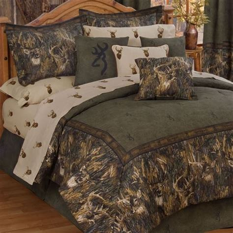 deer bedroom browning r whitetails deer camo comforter bedding
