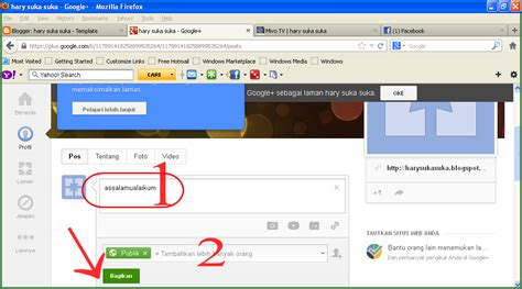 membuat fanspage twitter cara membuat laman fans page di google plus blog mashari