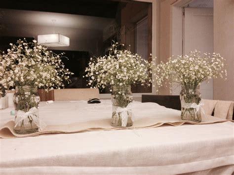 floreros con frascos floreros con frascos de mermelada comunion pinterest