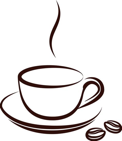 cartoon coffee mug coffee cup cartoon clipart 64