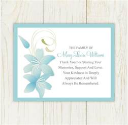 11 funeral thank you notes documents in pdf psd