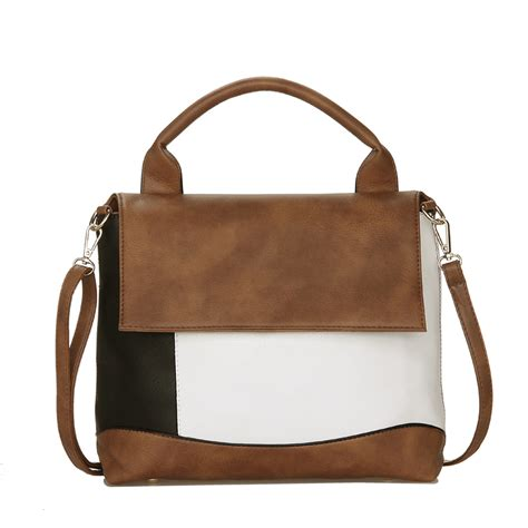 Patchwork Leather Handbag - patchwork leather handbag