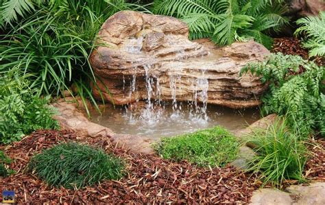 backyard waterfalls and ponds medium backyard garden pond waterfall kits artificial rocks
