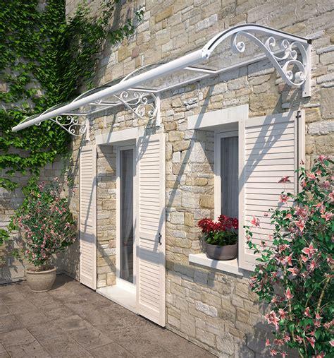 tettoie in ferro e policarbonato pensiline e tettoie su misura antipioggia e ombreggianti