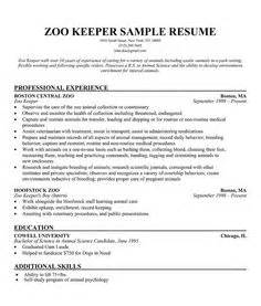 cover letter zoo keeper order custom essay www