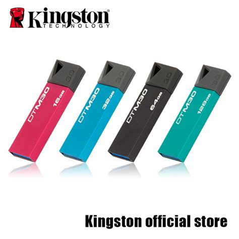 Usb Flashdisk 128gb aliexpress buy kingston usb 3 0 datatraveler mini 3