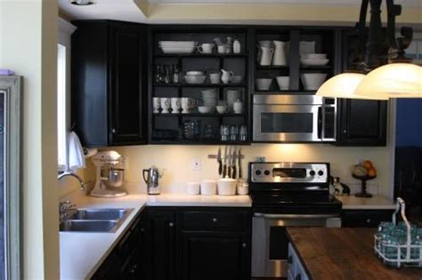 Black Kitchen Cabinets Small Kitchen by Kitchen Behr Beluga