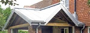Barn Metal Roof Transverse Gable Zinc Cladding For Tenterden Dormer