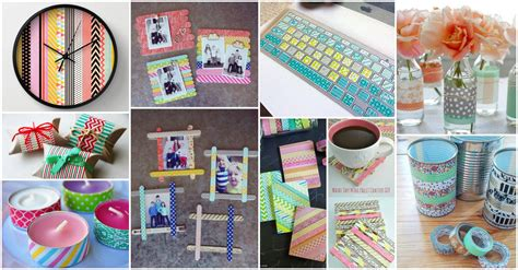 diy washi 20 diy creative washi tape crafts for lively experience