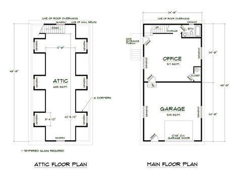 shop homes floor plans medeek design plan no shop4824 a6db