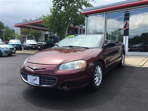 2001 Chrysler Sebring Convertible For Sale by 2001 Chrysler Sebring Lx For Sale 45 Used Cars From 1 000