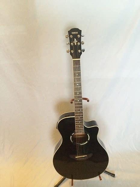 Gitar Akustik Elektrik Model Apx Black yamaha apx 500 acoustic electric black reverb