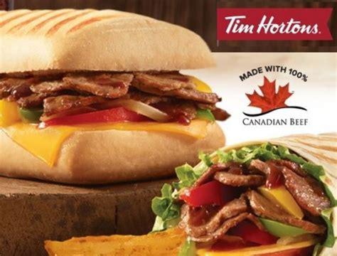 Tim Hortons Sweepstakes - free tim hortons bbq steak coupon