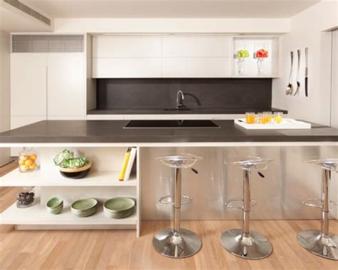 modern kitchen shelves space saving corner shelves design ideas