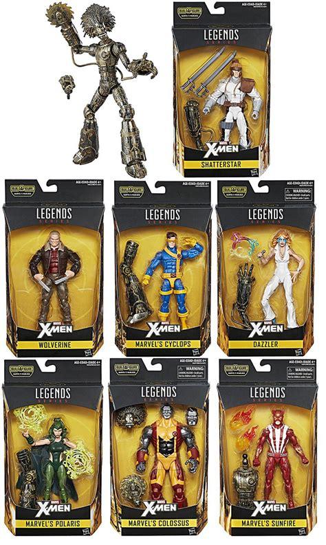 marvel figure 6 set set of 7 build a figure warlock marvel legends