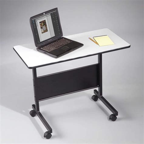Laptop Desk With Wheels Mobile Laptop Table Benefits