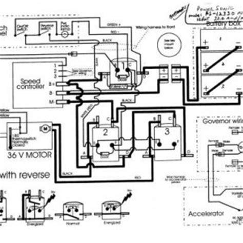 ez go electric golf cart wiring diagram efcaviation