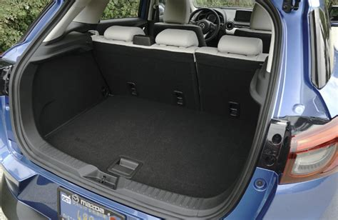 mazda 3 hatchback trunk space which mazda models the most trunk space