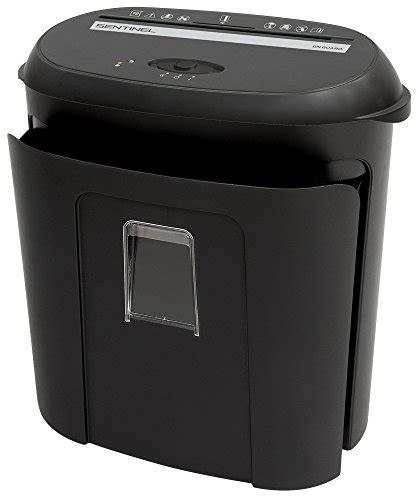sentinel on guard 6 sheet crosscut shredder black fx61b sentinel fm100p on guard 10 sheet microcut paper shredder