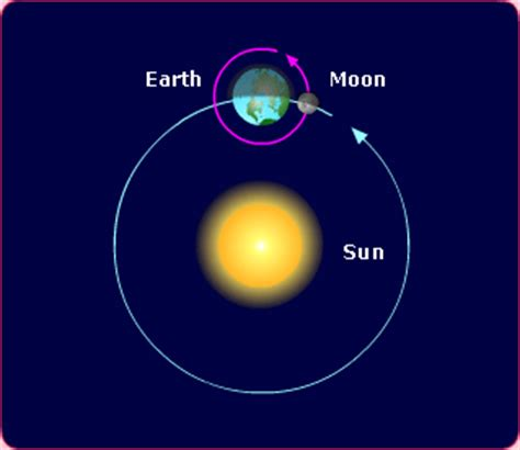 diagram of the earth sun and moon room 11