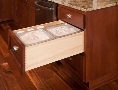 country kitchen baking supplies custom drawer for baking supplies in a country kitchen
