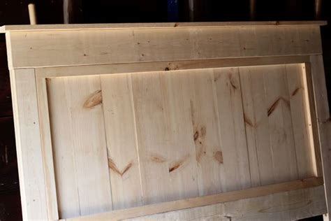 Wooden Headboard Diy by Diy Wooden Headboard For The Home