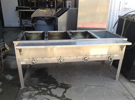 steam table la semi nueva used restaurant equipment