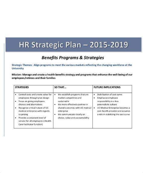 strategic plan templates  word  premium templates