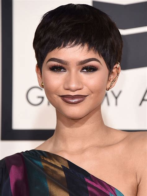 hair s s 2015 2015 grammys hair zendaya s new pixie 1966 magazine