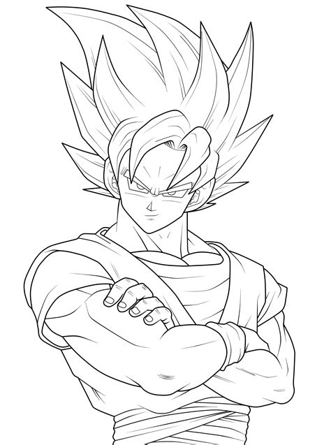 Dragon Ball Z Goku Super Saiyan 3 Coloring Pages Z Battle Of Gods Coloring Pages