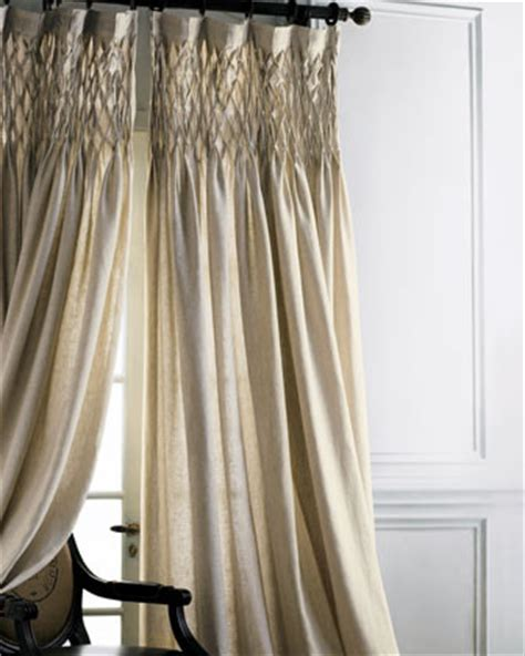 horchow drapes smocked linen curtain traditional curtains by horchow