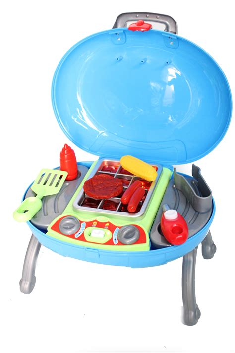 Bbq Playset by Electronic Play Bbq Food Play Set