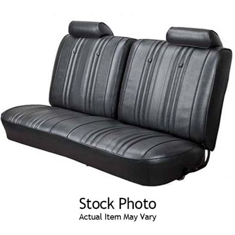 nova bench seat for sale pui 73xs10c 1973 1974 nova 2 door rear seat upholstery black