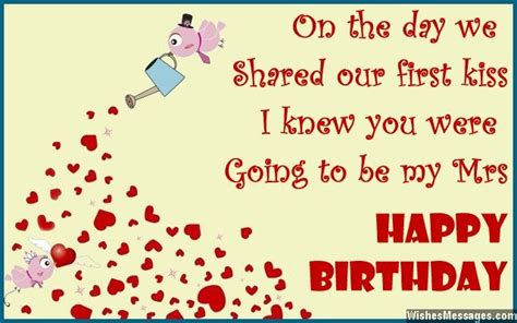 Husband Birthday Card Message Birthday Wishes For Wife Quotes And Messages