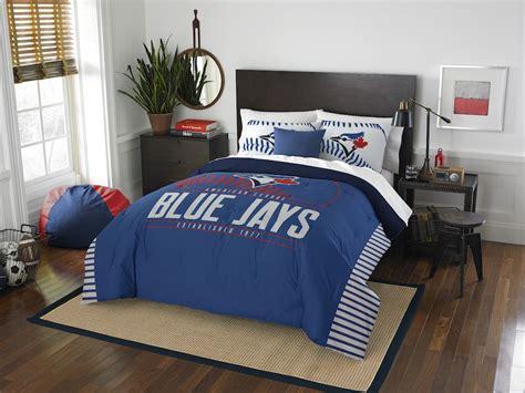 bedding sets toronto mlb toronto blue jays comforter with 2 shams buy