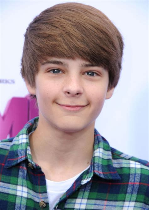 swoopy hair guys corey fogelmanis switched up his hair in a major way