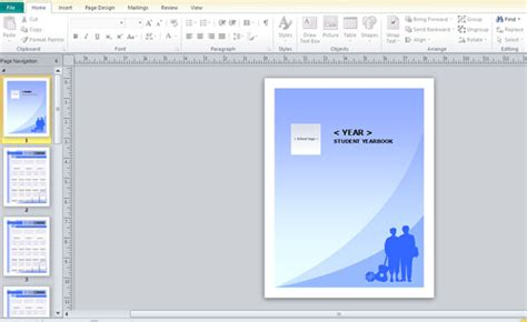 Yearbook Template For Microsoft Publisher Microsoft Publisher Photo Book Templates