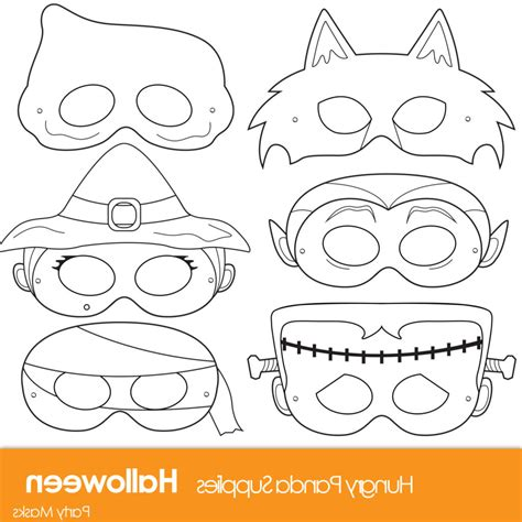 Print Mask printable masks to color 187 coloring pages