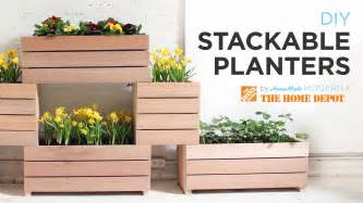 Diy Planters a vertical garden made from diy stackable planters youtube