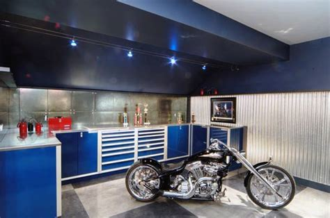 led garage lighting ideas 50 garage lighting ideas for men cool ceiling fixture