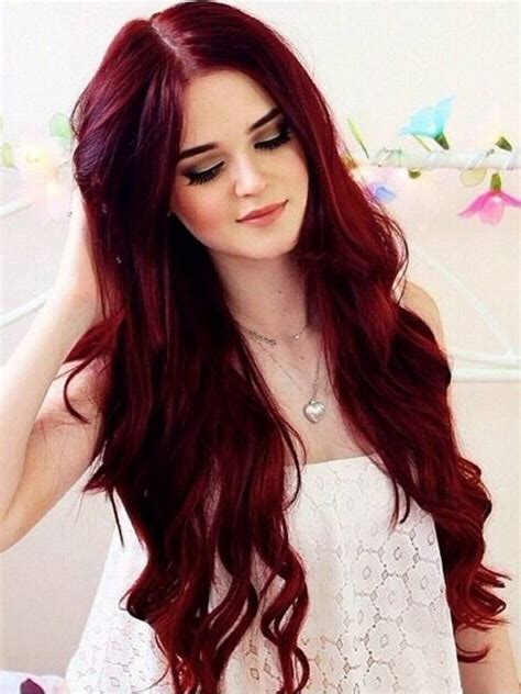 shades of red hair most popular shades of red hair color hairzstyle com